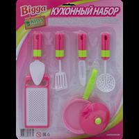 Набор игровой BIGGA Кухонный 6 предм. MX0184335