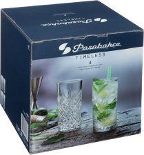 Набор стаканов PASABAHCE Timeless выс, 450мл 4шт