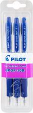 Ручки шариковые PILOT BPGP-10R-F, 0.5мм, 3шт. син. блист.