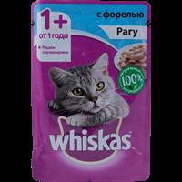Корм для кошек WHISKAS Рагу с форелью