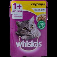 Корм для кошек WHISKAS Мини-филе с курицей