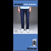 Брюки мужские INWIN Gordon джинсовые синие р.M-XXXL