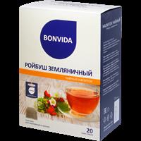 Напиток чайный BONVIDA Ройбуш Земляничный