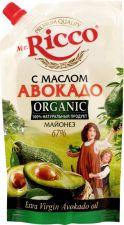 Майонез MR.RICCO Organic с маслом авокадо 67% д/п 400мл