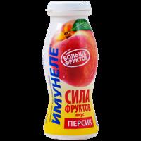 Напиток кисломолочный ИМУНЕЛЕ с пюре Сила Фруктов персик 1%