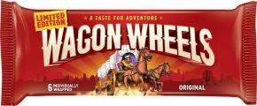 Бисквит WAGON WHEELS с суфле покрытое шоколадной глазурью 216г