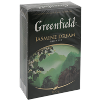 Чай зеленый GREENFIELD Jasmine Dream лист. к/уп