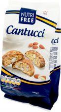Печенье NUTRIFREE С кусочками миндаля Cantucci 240г