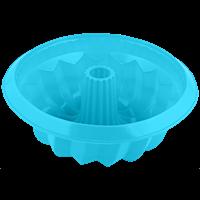 Форма для выпечки HOMECLUB Delice Кекс круглая 26x9см, силикон, в ассорт B-12014L