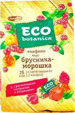Конфеты ECO-BOTANICA вкус брусника-морошка 200г