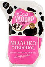 Молоко ИЗ СЕЛА УДОЕВО отборное 3,4%-6% кувшин без змж 900г