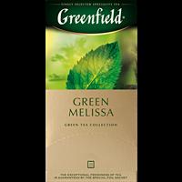 Чай зеленый GREENFIELD Green Melissa к/уп