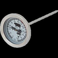 Термометр для запекания мяса MALLONY Termocarne, нерж.сталь, стекло 003540