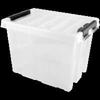 Контейнер для хранения АРХИМЕД с крышкой, 17л, пластик Р1206