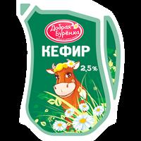 Кефир ДОБРАЯ БУРЕНКА (Саратовский МК) 2,5% кувшин