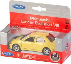 Игрушка WELLY модель машины 1:34 OPEL/Mitsubishi/Nissan/Чайка
