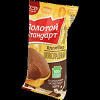 Мороженое ЗОЛОТОЙ СТАНДАРТ пломбир шоколадный ваф/стак