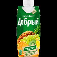Нектар ДОБРЫЙ Мультифрут т/пак.