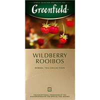 Чай травяной GREENFIELD Wildberry Rooibos к/уп
