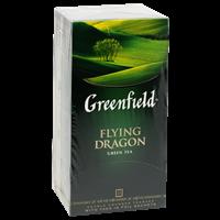 Чай зеленый GREENFIELD Flying Dragon в Термосаше к/уп