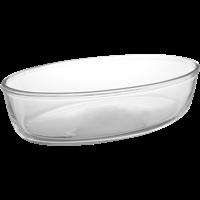 Форма д/выпечки PASABAHCE Borcam 18х26см, овальная, стекло 59084ОB