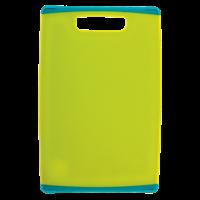 Доска разделочная HOMECLUB с резиновыми краями 30x20x0,8см, пластик 9056
