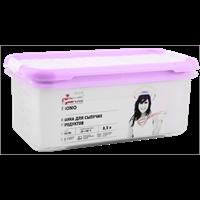 Банка д/сыпучих продуктов GIARETTI Bono 0,5л, с дозатором, голубой, розовый GR2234ГЛ-Л