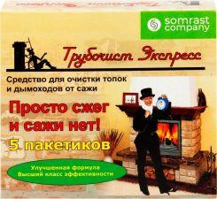 Средство д/очистки дымоходов ТРУБОЧИСТ ЭКСПРЕСС №5 5пак