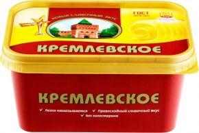 Спред ТМ КРЕМЛЕВСКОЕ растительно-жировой 60% банка п/п 450г