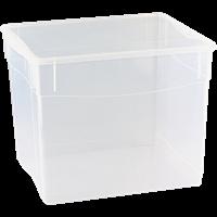 Ящик для хранения БЫТПЛАСТ Кристалл 34л 400x335x315 высокий 4312815
