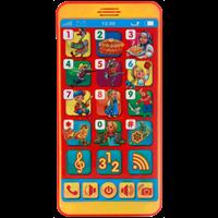 Игрушка УМКА Сенсорный телефон 219344-46/213629/213630
