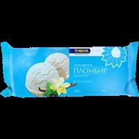 Мороженое ЛЕНТА ванильный пломбир 15% брикет
