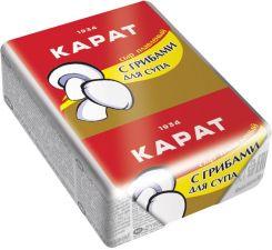 Сыр КАРАТ плавленый с грибами для супа 45% без змж 90г