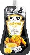Соус HEINZ Сырный на основе растительных масел д/п 59% 230г