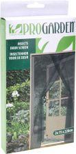Сетка антимоскитная д/двери, 75x220 cм, комплект 2шт+велкро-лента