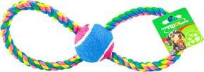 Игрушка д/собак TRIOL Апорт на веревке