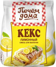 Смесь д/выпечки ПЕЧЕМ ДОМА Кекс лимонный 400г