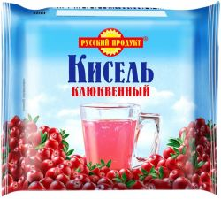 Кисель РУССКИЙ ПРОДУКТ Клюква брикетированный 220г