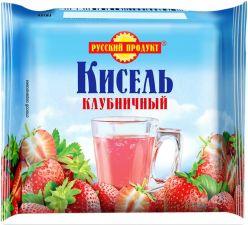 Кисель РУССКИЙ ПРОДУКТ Клубника брикетированный 220г