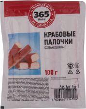Крабовые палочки 365 ДНЕЙ (имитация) 100г