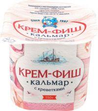 Паста КРЕМ-ФИШ кальмар-креветка 150г