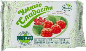 Мармелад УМНЫЕ СЛАДОСТИ Безглютеновый б/сахара со вкусом лимона 200г