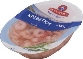 Креветки САНТА БРЕМОР мясо в заливке Бремор 200г