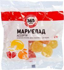 Мармелад 365 ДНЕЙ Ассорти 250г