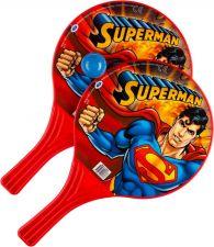 Н-р игровой DEMA-STIL Пляжный Теннис дет. Супермен 2предм.