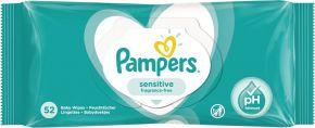 Салфетки PAMPERS Sensitive дет. влаж. 52шт