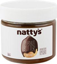 Паста арахисовая NATTYS Шоколадная 325г