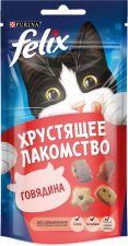 Лакомство д/взр.кошек FELIX с говядиной пауч 60г