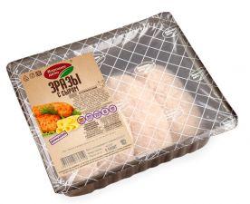 Зразы куриные ХОРОШЕЕ ДЕЛО с сыром охл. лоток 400г