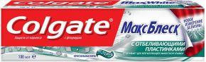 Зубная паста COLGATE Макс Блеск с отбел пластинками 100мл